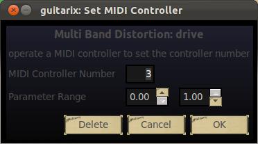 Fijar Control MIDI