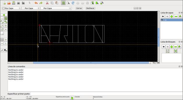 Librecad 1.0 - Aerilon