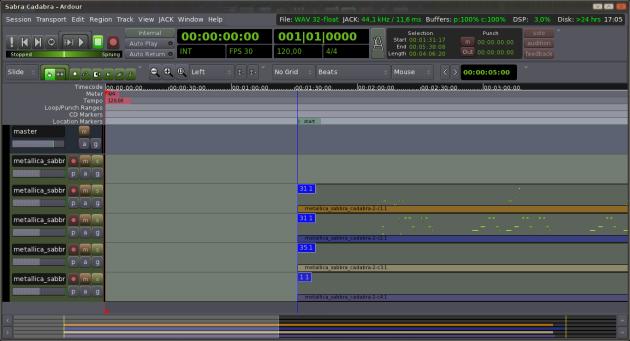 Ardour 3 - 5 - MIDI import