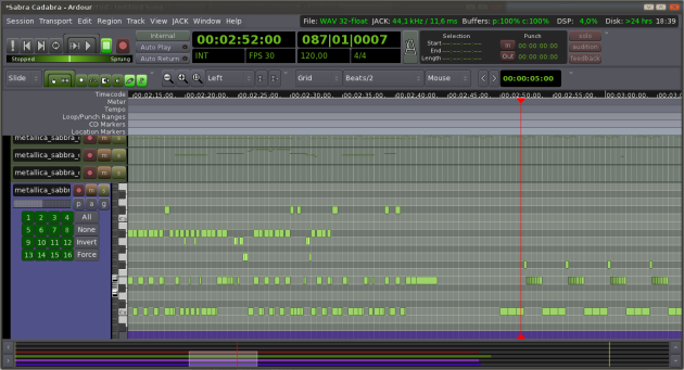 Ardour 3 MIDI