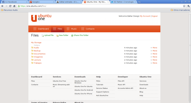 Ubuntu One - 4 - Storage