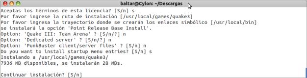 Instalar Quake Linux