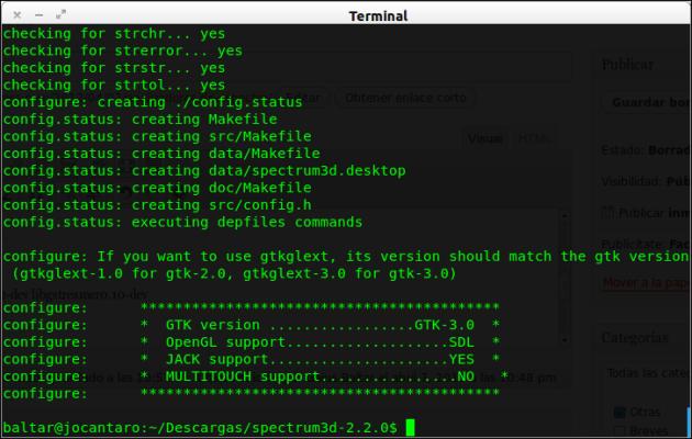 Spectrum3D-configure