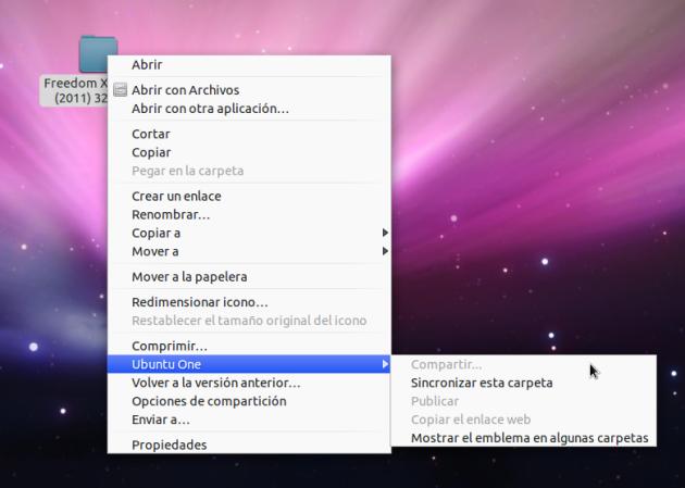 Ubuntu One Desktop