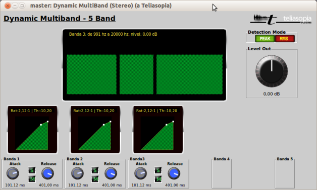t-Dynamic-Multiband