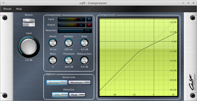 CALF Plugins - 11 - Compressor