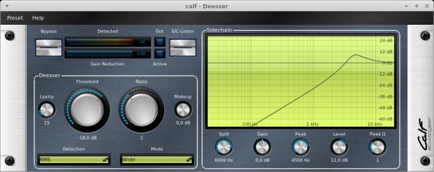 CALF Plugins - 14 - Deesser