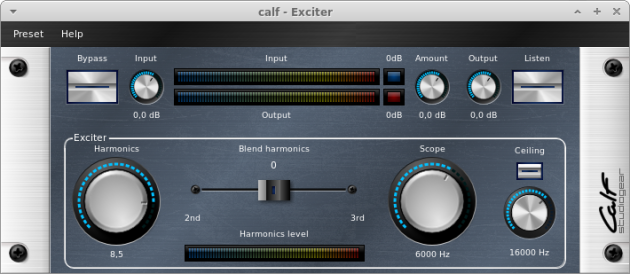 CALF Plugins - 23 - Exciter