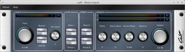 CALF Plugins - 25 - MonoInput