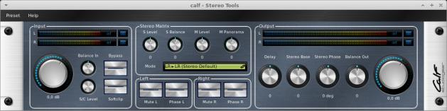CALF Plugins - 26 - StereoTools