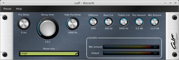 CALF Plugins - 4 - Reverb
